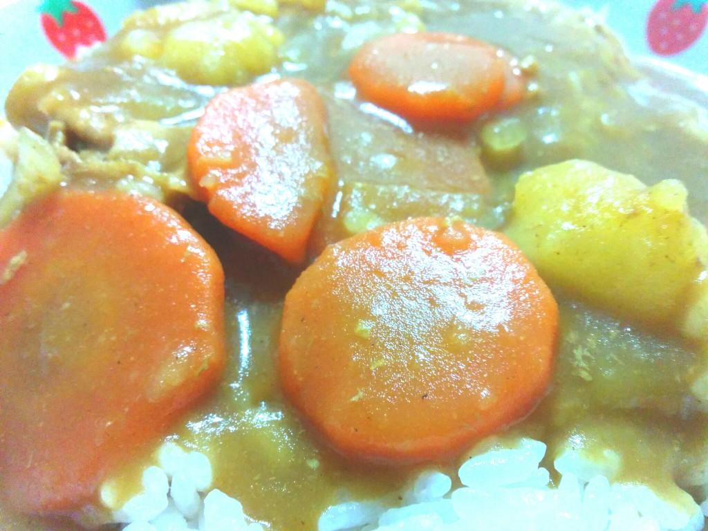 2段熟カレー